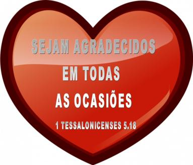 1 TESSALONICENSES 5.18